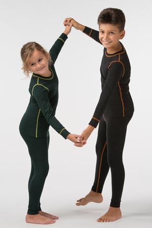 Детское термобелье с шерстью