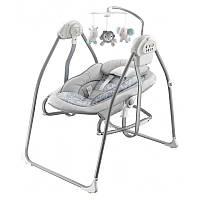 Кресло-качалка Baby Mix BY020 (серая)