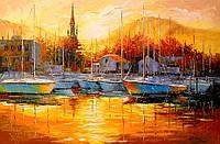 «Турецкий закат» картина маслом