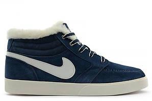 Кроссовки с мехом Nike Blazed Navy Blue