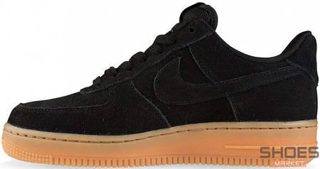 Женские кроссовки Nike Air Force 1 Low Black Gum AQ0117-002, Найк Аир Форс, фото 2