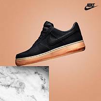 Женские кроссовки Nike Air Force 1 Low Black Gum AQ0117-002, Найк Аир Форс, фото 3