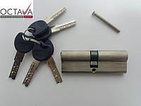 Серцевина замка ОСТО  PROFI SN 45/45 90 мм (40*10*40) Ni (никель)  ключ-ключ