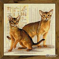 """Набор для вышивания Риолис  """"Абиссинские кошки"""""""