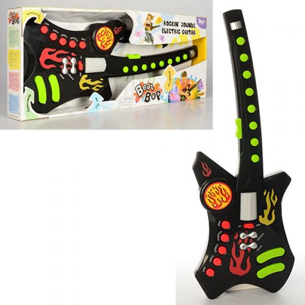 """Детская развивающая музыкальная игрушка """"гитара"""" 2058-NL"""