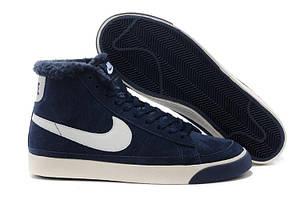 Кроссовки на меху Nike Blazed Navy