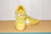Кросівки на дівчинку 26 р арт 5344 жовті.