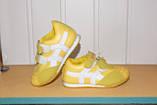 Кроссовки на девочку 26 р арт 5344 желтые., фото 2