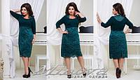 Платье (52,54,56,58,60) — креп купить оптом и в розницу в одессе  7км