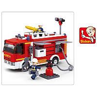 Конструктор «Серия Пожарный. Пожарная машина» M38-B0626 Sluban, 343 детали