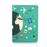 """Обложка для паспорта """"Глобус"""""""