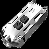 Фонарь Nitecore TIP SS(Cree XP-G2, 360 люмен, 8 режимов, USB), стальной, фото 1