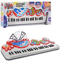 Синтезатор - Детский музыкальный центр,49 клавиш, запись, 8 ритмов,8 инструментов 2071-NL