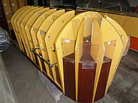 Витрина ДСП бу 2,30 м. купить прилавок ДСП ячеечный для конфет бу., фото 1