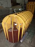 Витрина ДСП бу 2,30 м. купить прилавок ДСП ячеечный для конфет бу., фото 3