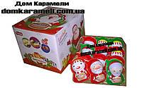 Яйцо шоколадное пластиковое Новогодние Фигурки 24 шт (Турция)