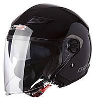 Шлем LS2 OF569 TRACK, GLOSS BLACK, L, фото 1