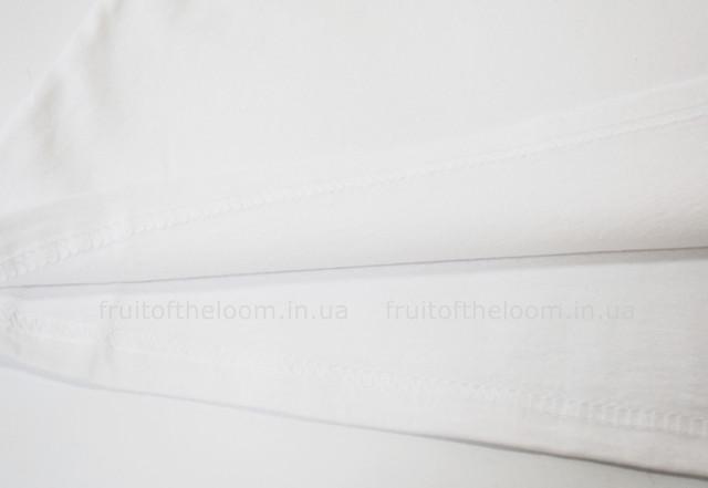 Белая женская лёгкая футболка