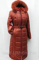 Теплое зимнее пальто Милана макси р 56