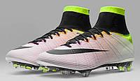 Футбольные бутсы Nike Mercurial Superfly Radiant Reveal FG White/Black/Volt/Total Orange