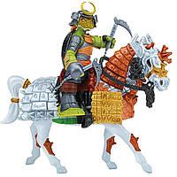 Игровой набор серии ЧЕРЕПАШКИ-НИНДЗЯ САМУРАИ – Экскл. фигурка Микеланджело на лошади (94269)