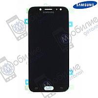 Дисплей Samsung J5 2017 (модуль экран + тачскрин) J530 Black, GH97-20738A