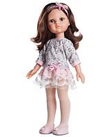 Кукла Paola Reina  Кэрол  04502 в нежно-розовом без челки  32 см  Паола Рейна