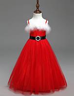 Платье детское новогоднее нарядное