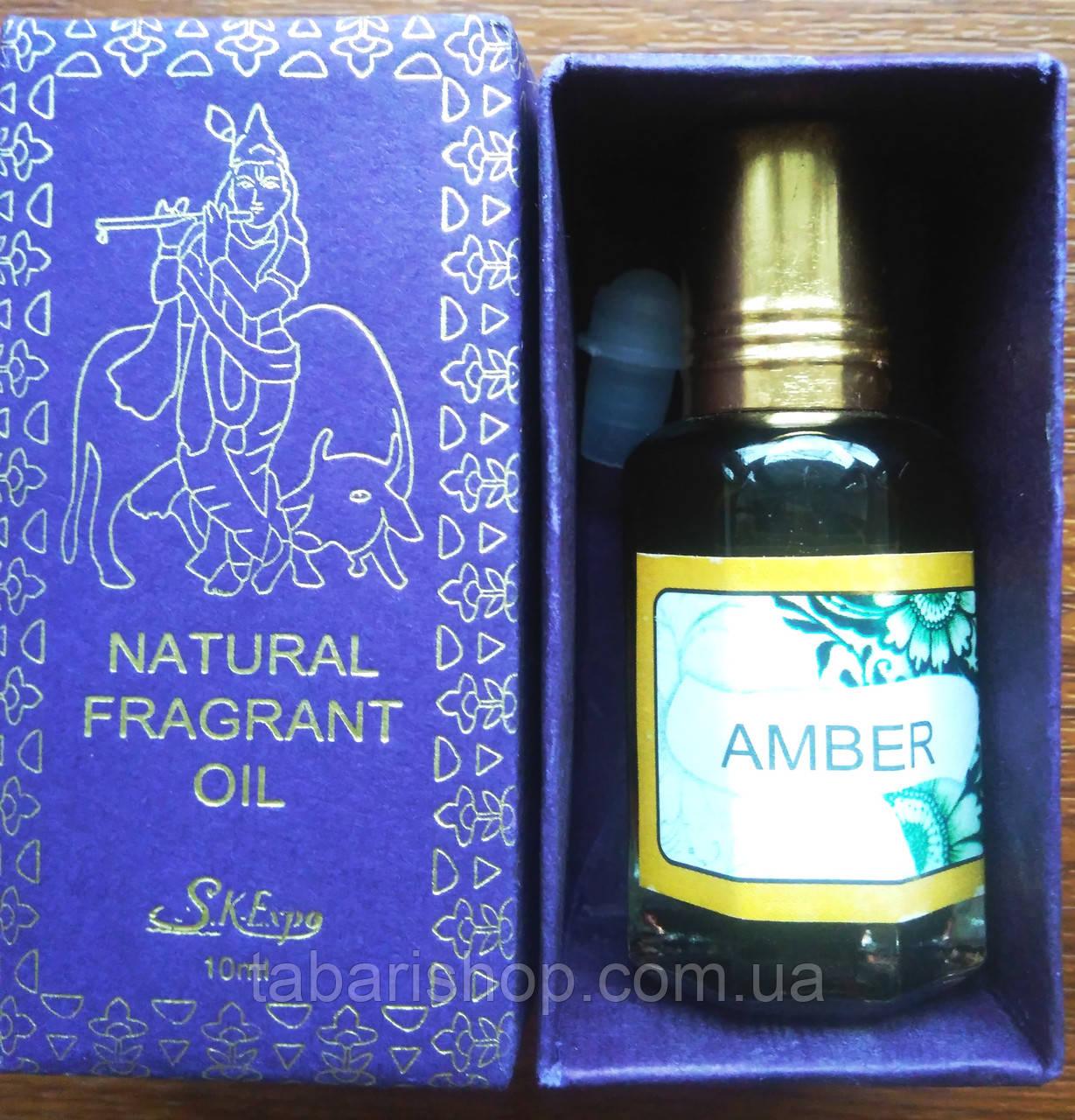 Масло концентрированное парфюмированное Amber, 10 мл