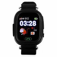 Детские часы с GPS трекером Smart Baby Watch Q60 Черные