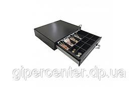 Денежный ящик Резонанс СК 410 со съемной монетницей (черный)