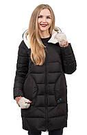 Женское пальто-пуховик на холлофайбере OILBIRD