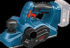 Аккумуляторный рубанок Bosch GHO 18 V-LI Professional (4 А/ч, 14000 об/мин)
