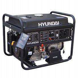 Бензиновый генератор HYUNDAI HHY 7010FE 5 (5.5)кВт