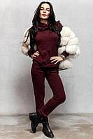 Ангоровый теплый костюм брюки и свитер