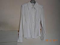Дамская рубашка с косыми защипами