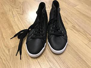 Высокие зимние кроссовки на меху Pumaоригинал, фото 2