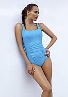 Слитный польский купальник майо от Madora,Dalia 48(XL), голубой