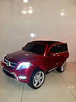 Детский электромобиль Mercedes-Benz GLK-350 Лицензионный ВИШНЕВЫЙ КРАШЕННЫЙ