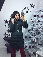 Куртка женская зимняя со съемным мехом р.42-48