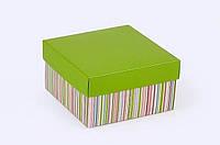 """Коробка. Модель №0003 """"Премиум"""". Код М0003-о2. Зеленая"""