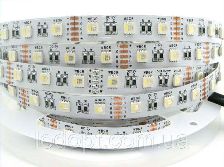 Светодиодная лента RGBW SMD 5050 14,4W 60 LED/m IP20