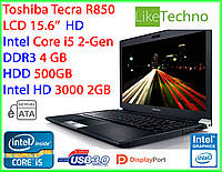 "Ноутбук Toshiba 15.6"" Core i5/RAM 4GB/HDD 500GB/Intel HD 2GB"