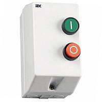 Контактор КМИ10960 9А в оболочке Ue=220В/АС3 IP54 IEK