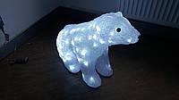 Акриловый медведь с подсветкой 100 led 59х26х46 мм