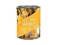 Краска  латексная ESKARO AKRIT 4 интерьерная белая-база А 0,95л