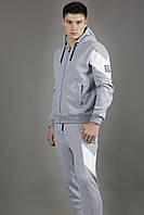 Спортивный костюм мужской серый  Moncler