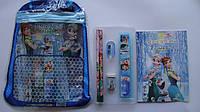 """Набор канцелярский подарочный """"Холодное Сердце Frozen"""",7пр в сумочке.Подарочный канцелярский набор детский """"Хо"""