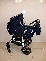 Детская  универсальная коляска VENEZIA синяя (есть разновидность расцветок)