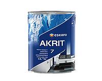 Краска  латексная ESKARO AKRIT 7 интерьерная транспарентная-база TR 0,9л